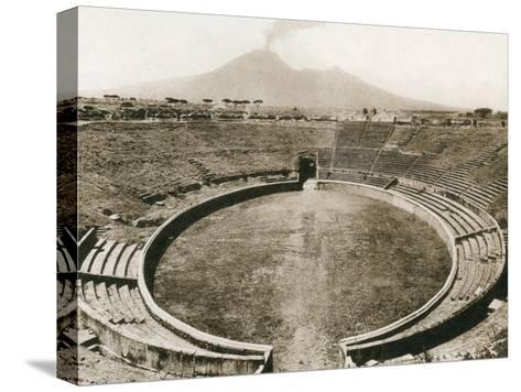 Anfiteatro, Pompeii, Italy, C1900s--Stretched Canvas Print