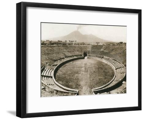 Anfiteatro, Pompeii, Italy, C1900s--Framed Art Print