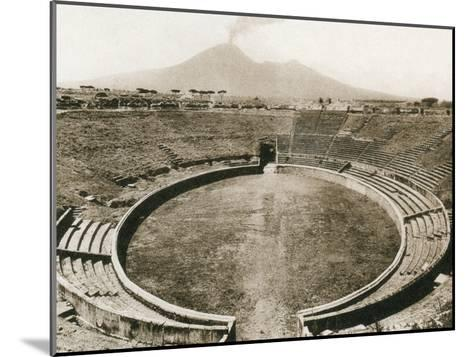 Anfiteatro, Pompeii, Italy, C1900s--Mounted Giclee Print