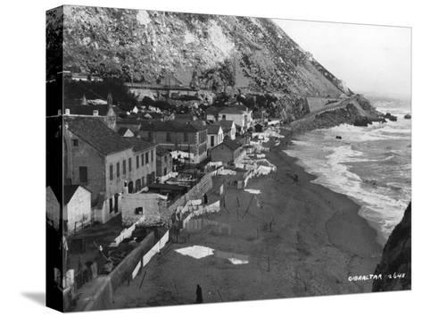 Beach, Gibraltar, C1920S-C1930S--Stretched Canvas Print