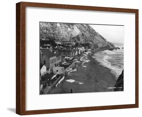 Beach, Gibraltar, C1920S-C1930S--Framed Art Print