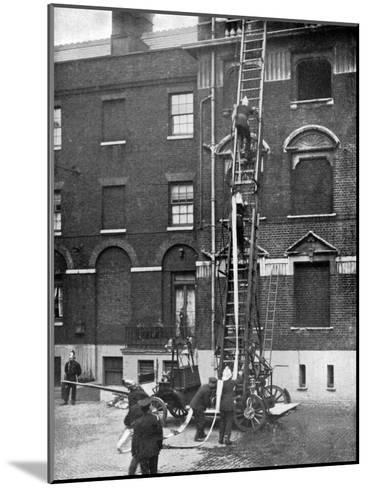 Fire Engine, Late 19th Century--Mounted Giclee Print