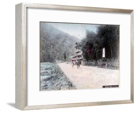 Arashi-Yama, Kyoto, Japan--Framed Art Print