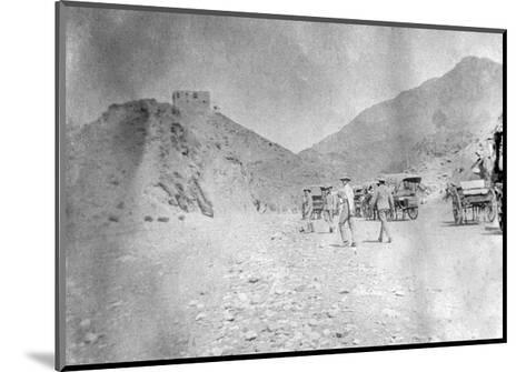Fort in the Khyber Pass, 1917--Mounted Giclee Print