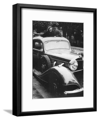 Mercedes-Benz Car, C1930S--Framed Art Print