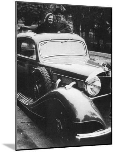 Mercedes-Benz Car, C1930S--Mounted Giclee Print