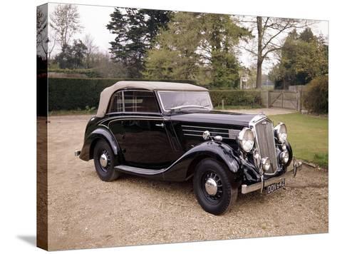 A 1937 Wolseley Super Six--Stretched Canvas Print