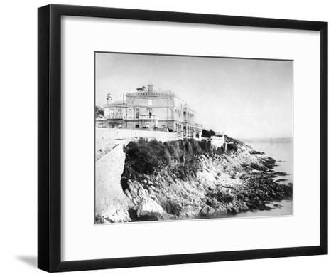 Winter Villa, C1882--Framed Art Print