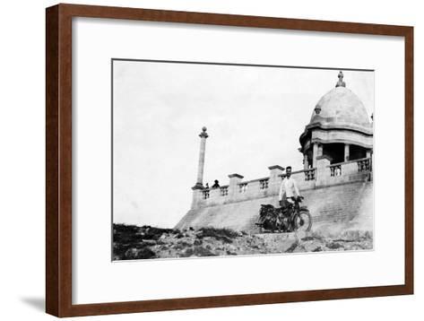 Karachi Pier, C1927--Framed Art Print