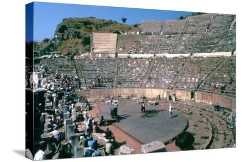 Roman Theatre, 41-54 Ad--Stretched Canvas Print