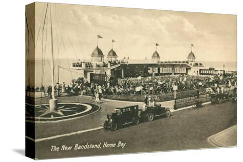 The New Bandstand, Herne Bay, Kent--Stretched Canvas Print