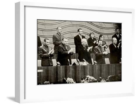 Moscow. April 1962, 1962--Framed Art Print