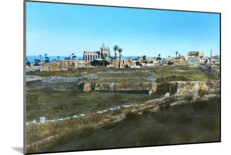 Sea Road to the East, Old Famagusta, Cyprus--Mounted Giclee Print