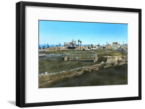 Sea Road to the East, Old Famagusta, Cyprus--Framed Art Print