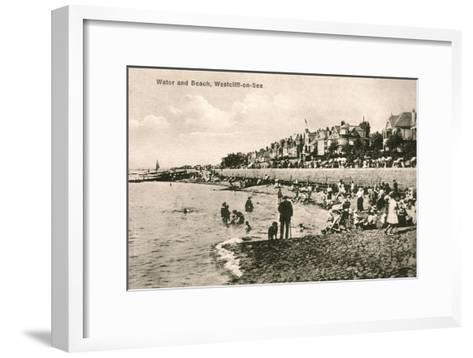 Westcliff-On-Sea, Essex, Early 20th Century--Framed Art Print