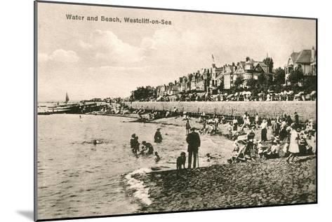 Westcliff-On-Sea, Essex, Early 20th Century--Mounted Giclee Print
