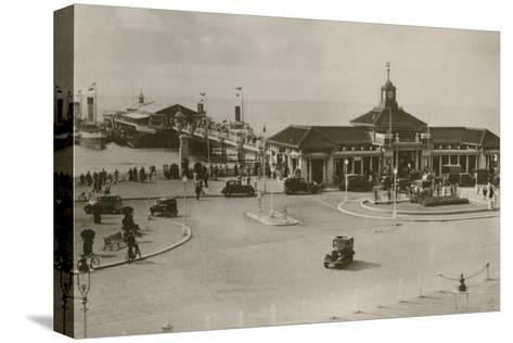 The Pier, Bournemouth, C1930S--Stretched Canvas Print