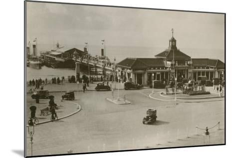 The Pier, Bournemouth, C1930S--Mounted Giclee Print