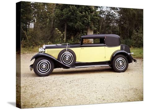 1928 Hispano-Suiza--Stretched Canvas Print