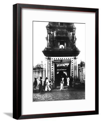 Temple, Singapore, 1900--Framed Art Print