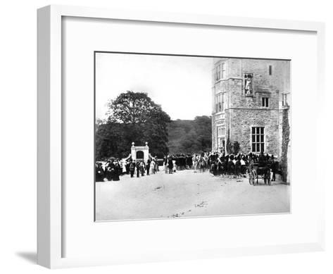 Wedding at Flete, C1882--Framed Art Print