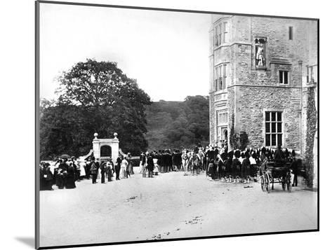 Wedding at Flete, C1882--Mounted Giclee Print