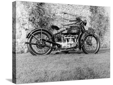 1924 Henderson Motobike--Stretched Canvas Print