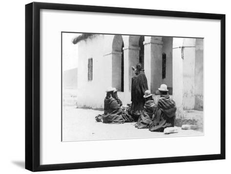La Paz, Bolivia, C1900s--Framed Art Print