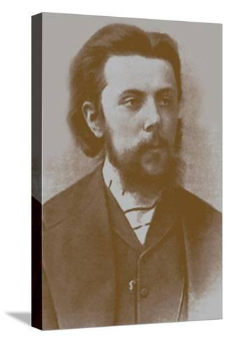 Modest Mussorgsky, 1865--Stretched Canvas Print