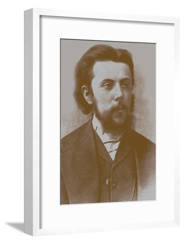 Modest Mussorgsky, 1865--Framed Art Print