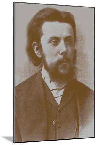 Modest Mussorgsky, 1865--Mounted Giclee Print