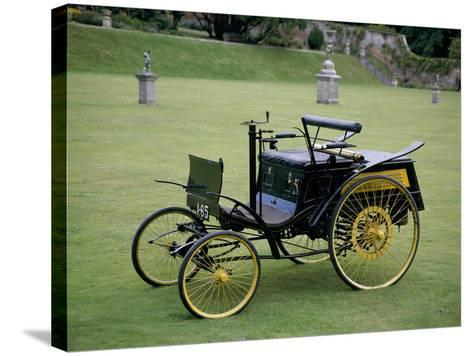 An 1894 Benz Velo--Stretched Canvas Print