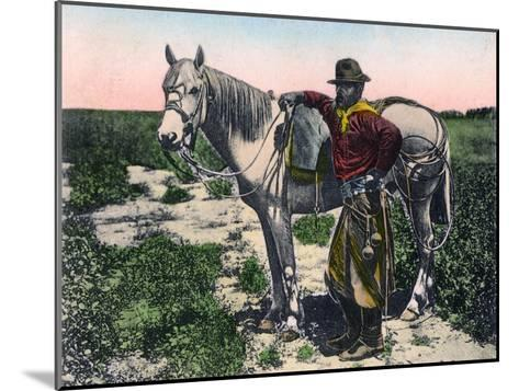 Gaucho, Argentina, Early 20th Century--Mounted Giclee Print