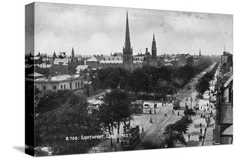 Lord Street, Southport, Lancashire, C1900s--Stretched Canvas Print
