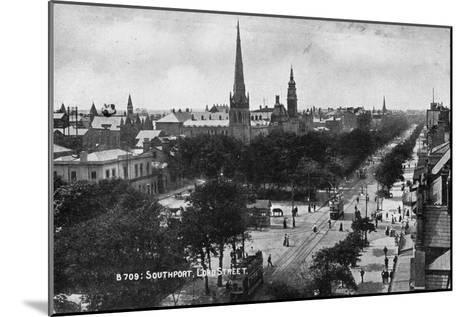 Lord Street, Southport, Lancashire, C1900s--Mounted Giclee Print