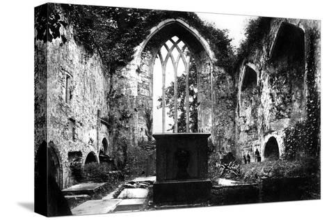 Muckross Abbey, Killarney, C1882--Stretched Canvas Print