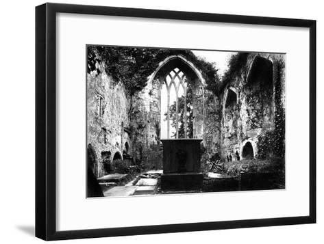 Muckross Abbey, Killarney, C1882--Framed Art Print
