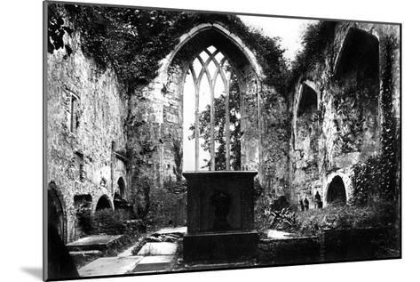 Muckross Abbey, Killarney, C1882--Mounted Giclee Print