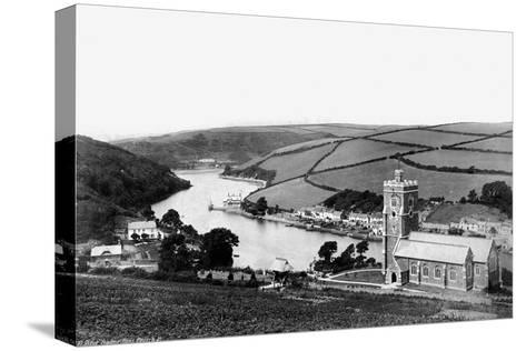 River Yealme; Noss Church, C1882--Stretched Canvas Print