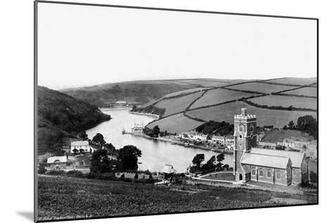 River Yealme; Noss Church, C1882--Mounted Giclee Print