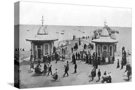 The Pier, Worthing, West Sussex, C1900s-C1920s--Stretched Canvas Print