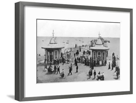 The Pier, Worthing, West Sussex, C1900s-C1920s--Framed Art Print
