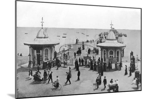 The Pier, Worthing, West Sussex, C1900s-C1920s--Mounted Giclee Print