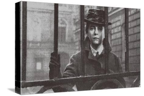 Alexandra Nazarova as Sophia Perovskaya, 1967--Stretched Canvas Print