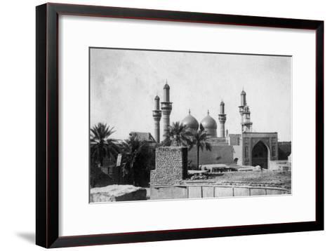 Kazimain Mosque, Iraq, 1917-1919--Framed Art Print