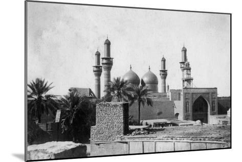 Kazimain Mosque, Iraq, 1917-1919--Mounted Giclee Print