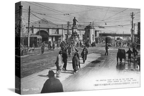 Suda Cho Street, Tokyo, Japan, 20th Century--Stretched Canvas Print