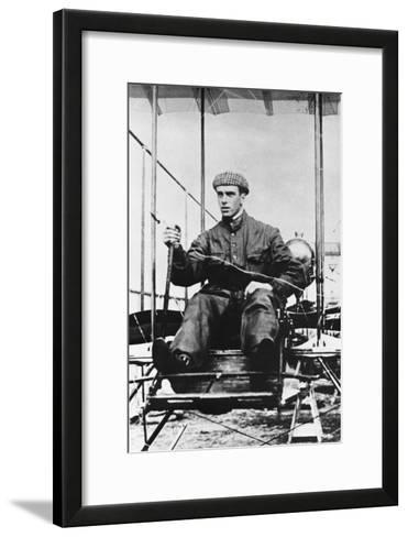 Graham White, British Pioneer Aviator, C1910--Framed Art Print