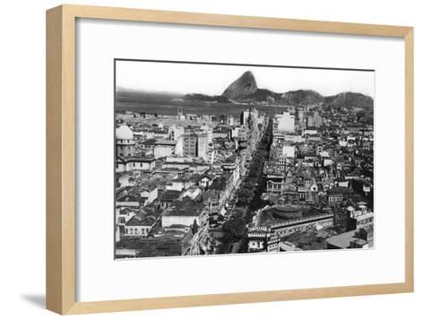Rio De Janeiro, Brazil, Early 20th Century--Framed Art Print