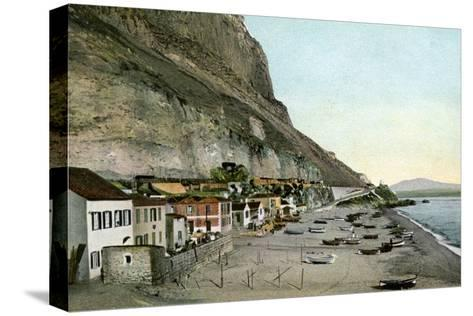 Catalan Bay, Gibraltar, 20th Century--Stretched Canvas Print